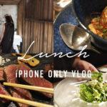 【ランチVlog】大人の空間 de お肉ランチコース 【奈良・大和牛】