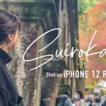 【京都Vlog】秋の南禅寺 水路閣【iPhone12ProMaxカメラで撮影】